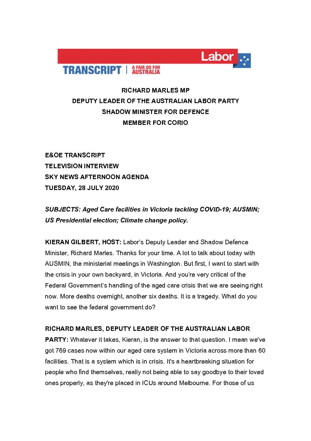 20.07.28-SKY-NEWS-AFTERNOON-AGENDA-WITH-KIERAN-GILBERT-TRANSCRIPT