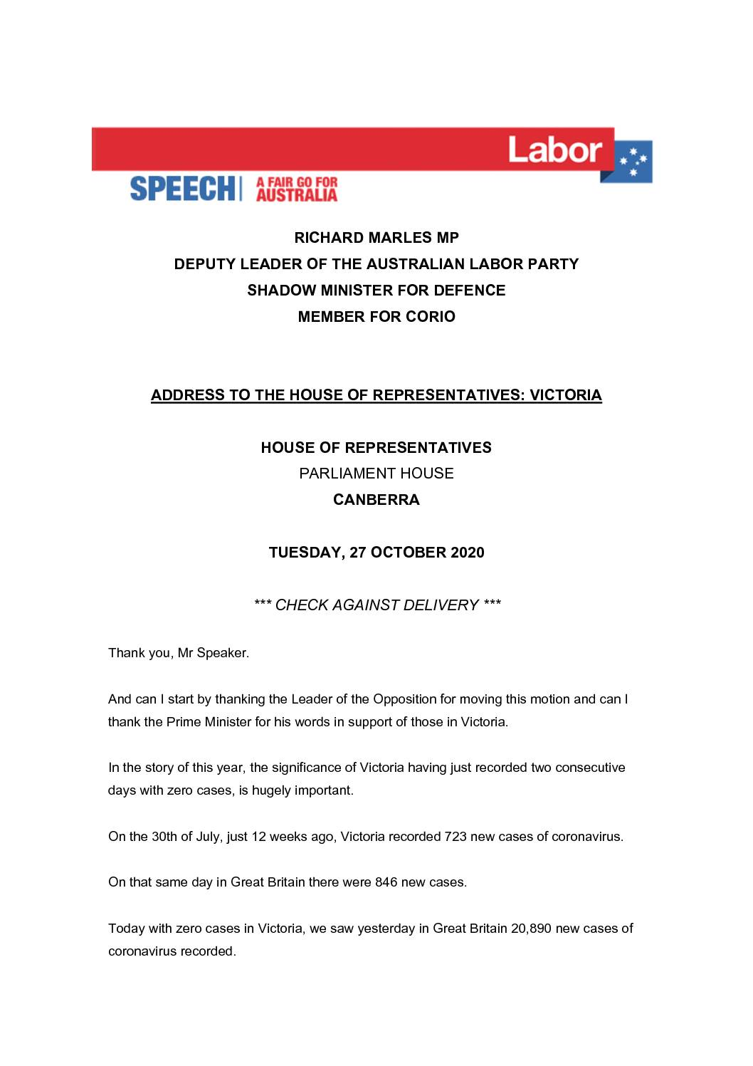 20.10.27-ADDRESS-TO-THE-HOUSE-OF-REPRESENTATIVES_VICTORIA